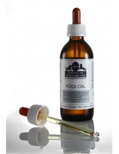 Yogi Oil, massage oil for muscle pains
