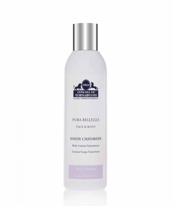 Sheer Cashmere body lotion concentrate