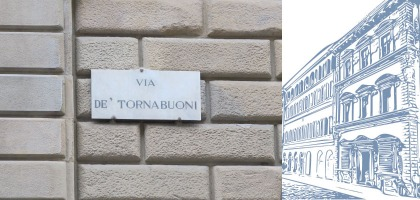 Officina de' Tornabuoni presents a fragrance inspired by Firenze's Palazzo Larderel